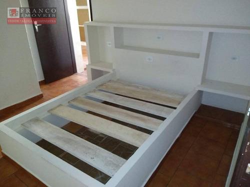 casa com 3 dormitórios locação/venda - parque cecap - valinhos/sp - ca0548