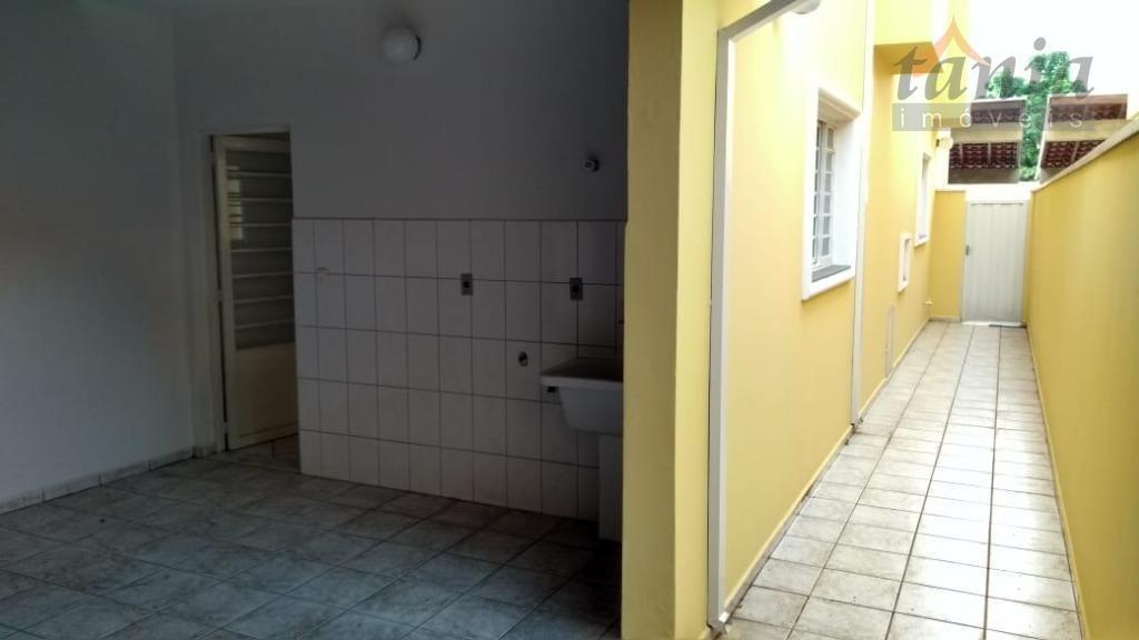 casa com 3 dormitórios para alugar, 107 m² por r$ 2.300/mês - parque residencial presidente médici - itu/sp - ca0339