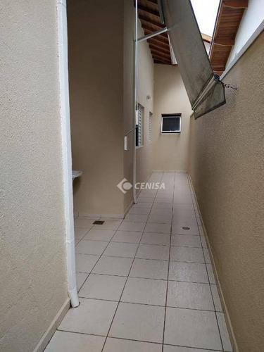 casa com 3 dormitórios para alugar, 110 m² - condomínio villaggio di itaici - indaiatuba/sp - ca1795