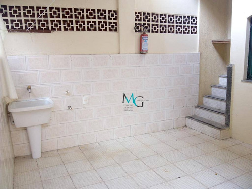 casa com 3 dormitórios para alugar, 120 m² por r$ 1.600/mês - campo grande - rio de janeiro/rj - ca0415
