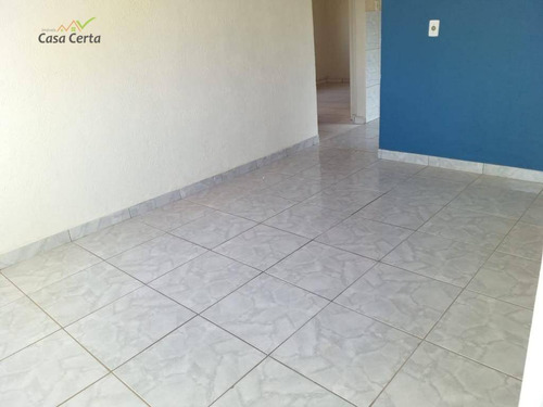casa com 3 dormitórios para alugar, 120 m² por r$ 800/mês - jardim itacolomi - mogi guaçu/sp - ca1460