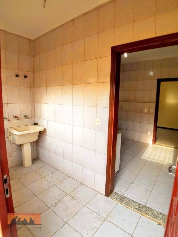 casa com 3 dormitórios para alugar, 134 m² - cidade universitária ii - campinas/sp - ca0047