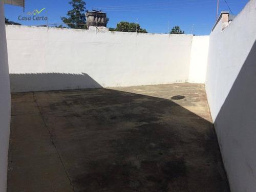casa com 3 dormitórios para alugar, 140 m² por r$ 1.800/mês - vila pinheiro - mogi guaçu/sp - ca1370