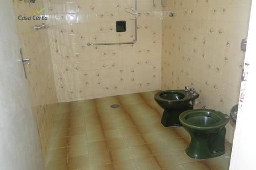 casa com 3 dormitórios para alugar, 140 m² por r$ 1./mês - vila paraíso - mogi guaçu/sp - ca1457