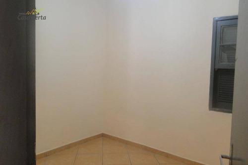 casa com 3 dormitórios para alugar, 150 m² por r$ 1.500/mês - jardim nossa senhora das graças - mogi guaçu/sp - ca1242