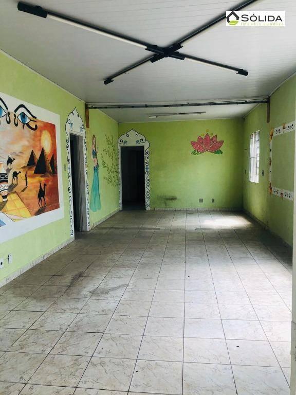 casa com 3 dormitórios para alugar, 156 m² por r$ 3.000/mês - ponte de campinas - jundiaí/sp - ca0192