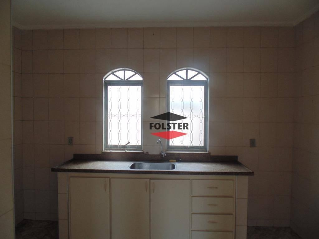 casa com 3 dormitórios para alugar, 160 m² por r$ 1.300,00/mês - jardim santa rita de cássia - santa bárbara d'oeste/sp - ca0038