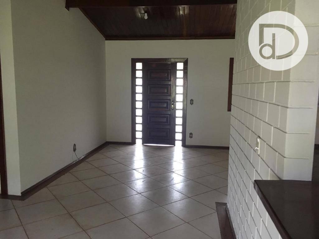 casa com 3 dormitórios para alugar, 160 m² por r$ 2.000/mês - condomínio vista alegre - café - vinhedo/sp - ca3663