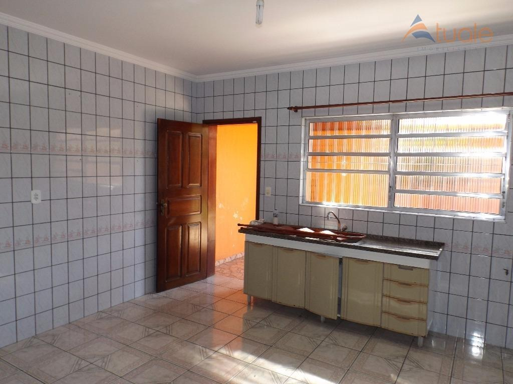 casa com 3 dormitórios para alugar, 175 m² por r$ 2.000,00/mês - vila real continuaçao - hortolândia/sp - ca4163