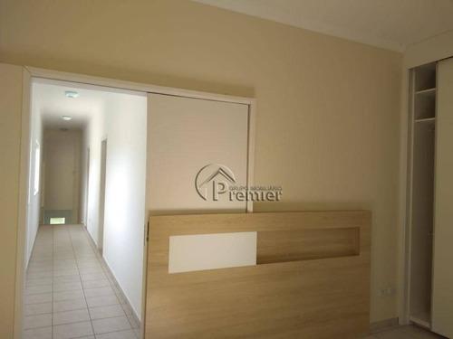 casa com 3 dormitórios para alugar, 180 m² por r$ 3.200/mês - jardim portal de itaici - indaiatuba/sp - ca1597