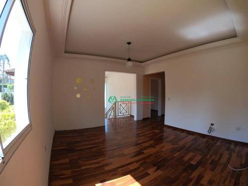 casa com 3 dormitórios para alugar, 190 m² por r$ 3.500/mês - monte catine - vargem grande paulista/sp - ca5887