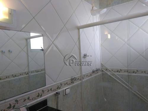 casa com 3 dormitórios para alugar, 195 m² por r$ 3.100/mês - jardim portal dos ipês - indaiatuba/sp - ca1591