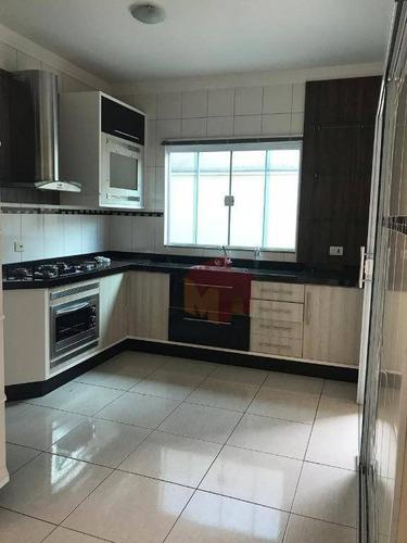 casa com 3 dormitórios para alugar, 200 m² por r$ 2.500/mês - jardim dona regina - santa bárbara d'oeste/sp - ca0496