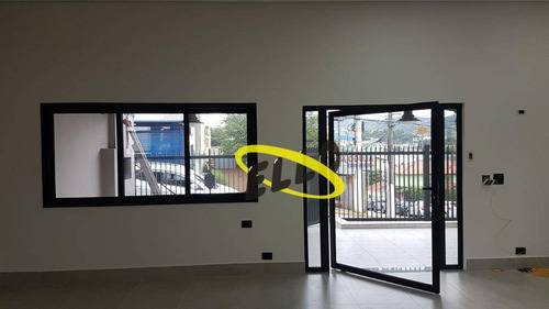 casa com 3 dormitórios para alugar, 200 m² por r$ 6.600/mês - parque bahia - cotia/sp - ca4292
