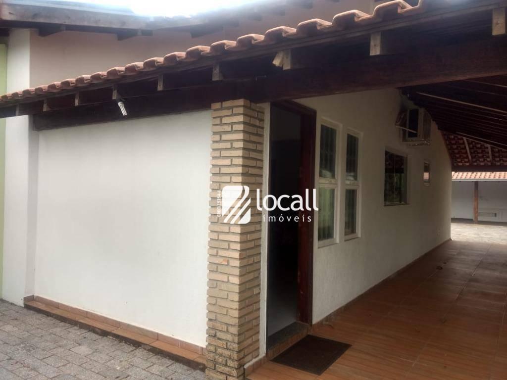 casa com 3 dormitórios para alugar, 210 m² por r$ 2.500/mês - jardim tarraf ii - são josé do rio preto/sp - ca2066