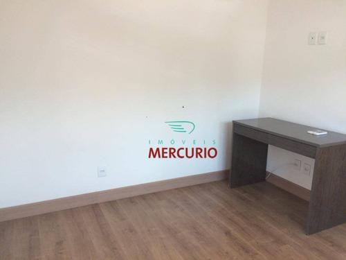 casa com 3 dormitórios para alugar, 220 m² por r$ 4.000/mês - quinta ranieri - bauru/sp - ca3023