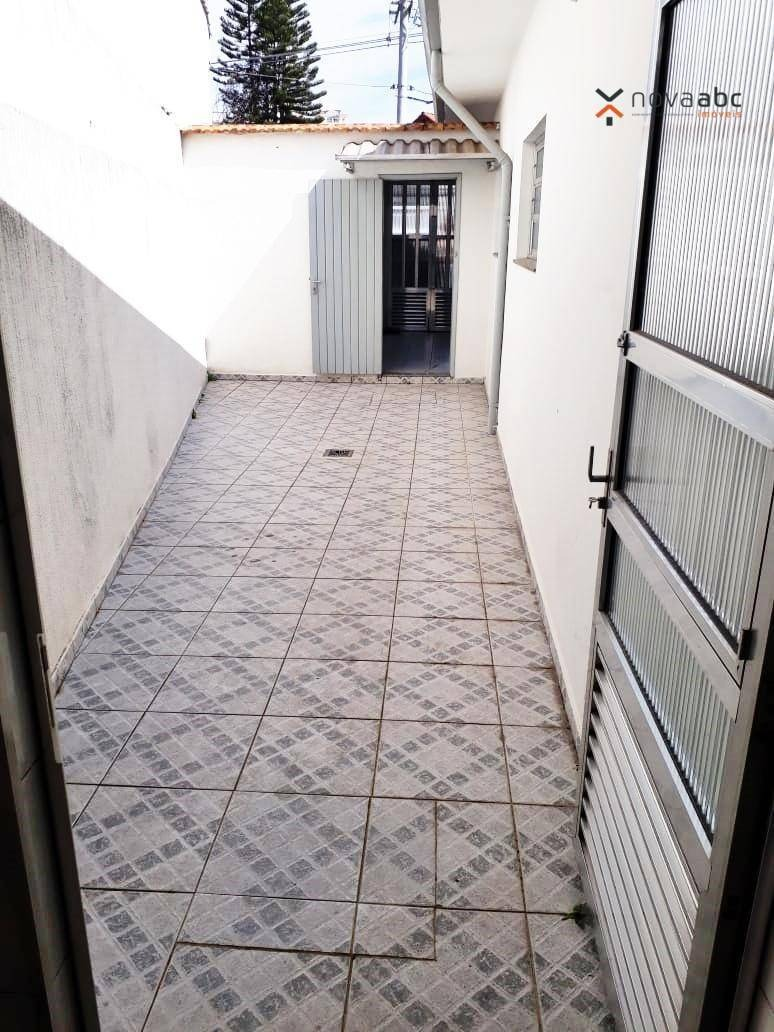 casa com 3 dormitórios para alugar, 230 m² por r$ 5.000,00/mês - campestre - santo andré/sp - ca0174
