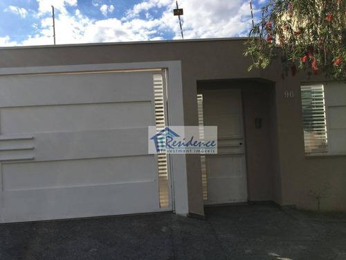 casa com 3 dormitórios para alugar, 250 m² por r$ 3.500/mês - jardim esplanada - indaiatuba/sp - ca0438
