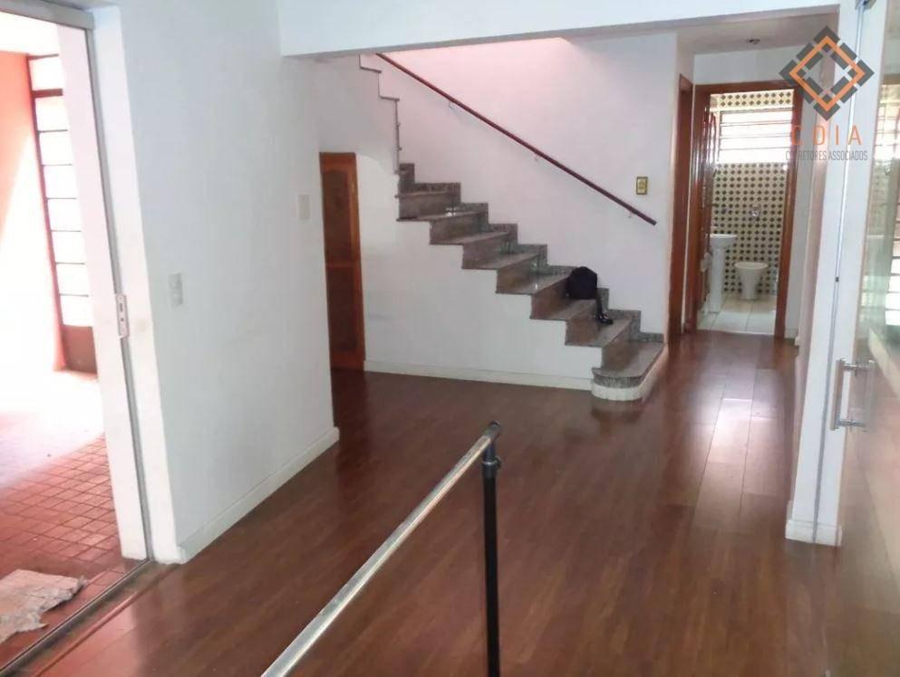 casa com 3 dormitórios para alugar, 250 m² por r$ 8.300,00 - campo belo - são paulo/sp - ca2818