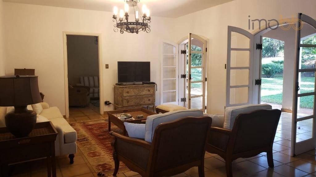 casa com 3 dormitórios para alugar, 255 m² por r$ 6.500/mês - condomínio fazenda vila real - itu/sp - ca3410