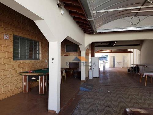 casa com 3 dormitórios para alugar, 324 m² por r$ 2.500,00/mês - chácara antonieta - limeira/sp - ca0796