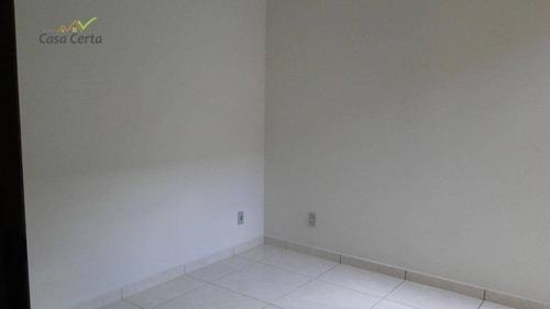casa com 3 dormitórios para alugar, 400 m² por r$ 2.200,00/mês - parque cidade nova - mogi guaçu/sp - ca0947