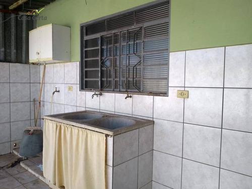 casa com 3 dormitórios para alugar, 86 m² por r$ 1.000/mês - vila ricci - mogi guaçu/sp - ca1415