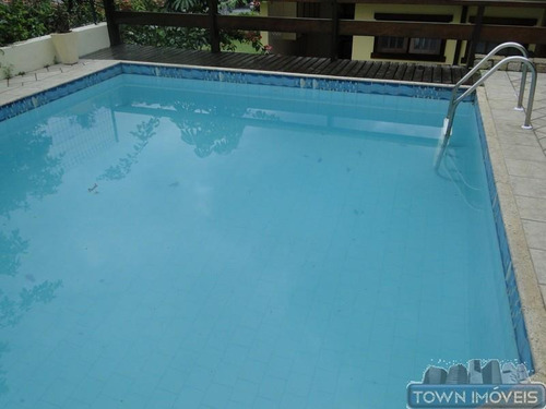 casa com 3 dormitórios para alugar condomínio green park, 300 m² por r$ 3.600/mês - piratininga - niterói/rj - ca0105