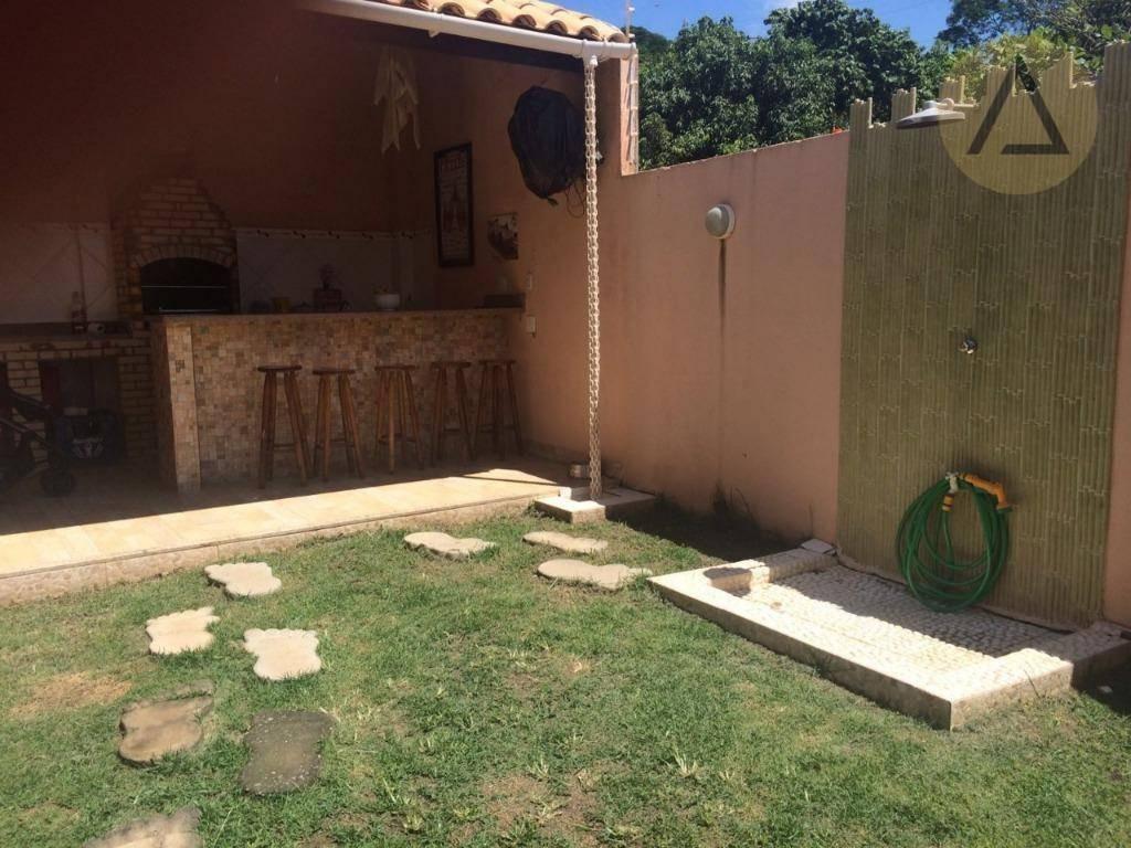 casa com 3 dormitórios para alugar por r$ 2.200/mês - vale encantado - macaé/rj - ca0973