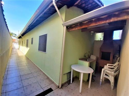 casa com 3 dormitórios, santa eugenia mongaguá - ref. ca0037