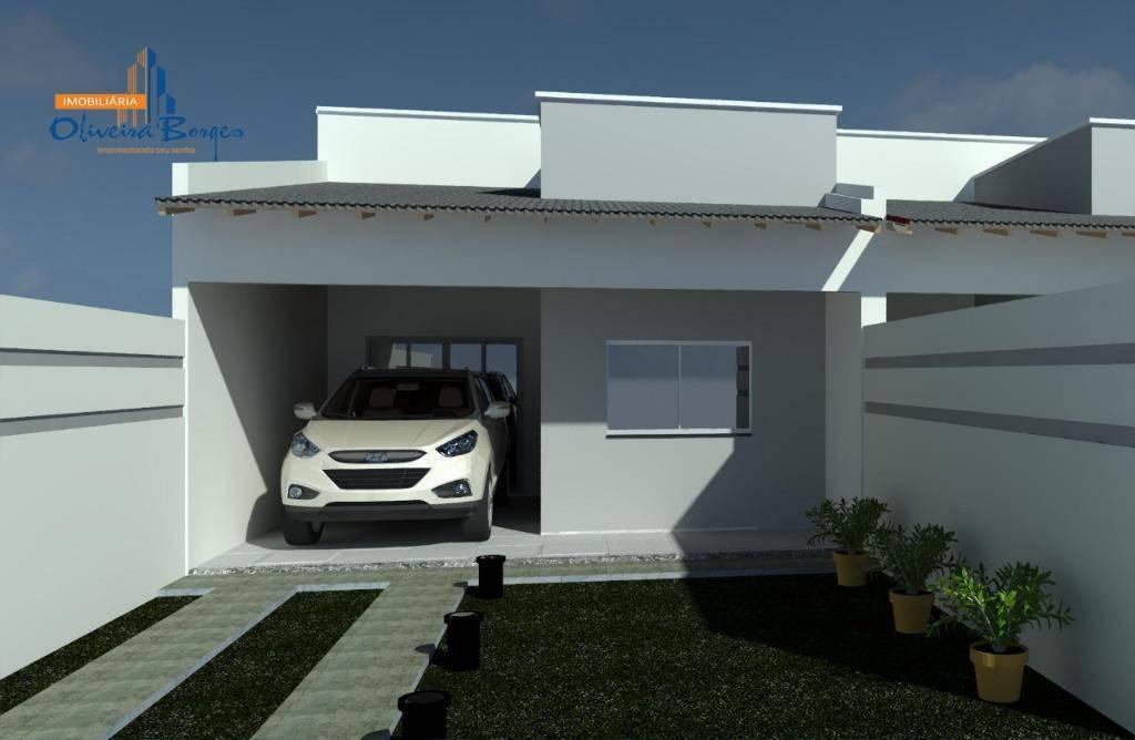 casa com 3 dormitórios à venda, 100 m² por r$ 175.000,00 - residencial vale do sol - anápolis/go - ca1113