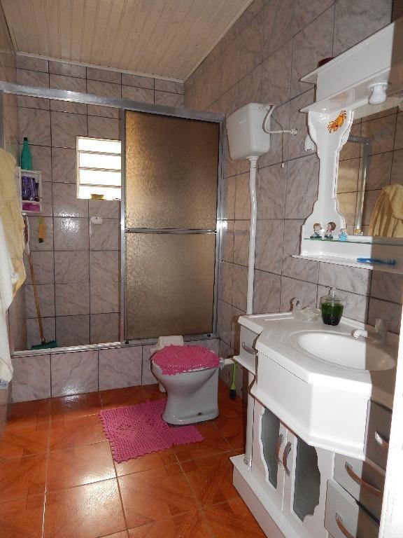 casa com 3 dormitórios à venda, 100 m² por r$ 250.000,00 - santa isabel - viamão/rs - ca0036