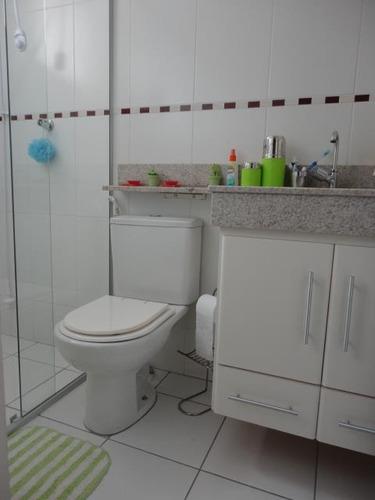 casa com 3 dormitórios à venda, 104 m² por r$ 640.000 - parque taquaral - campinas/sp - ca7686