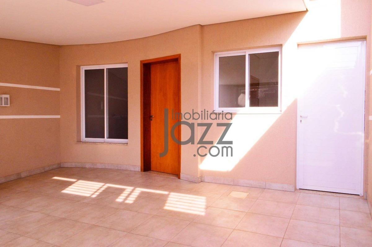 casa com 3 dormitórios à venda, 105 m² por r$ 424.000,00 - parque universitário - americana/sp - ca5367