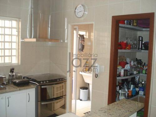 casa com 3 dormitórios à venda, 108 m² por r$ 460.000,00 - barão geraldo - campinas/sp - ca2708