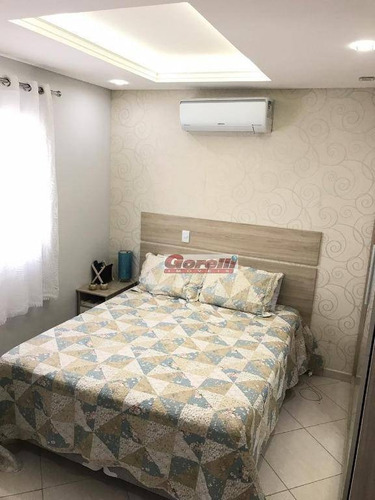 casa com 3 dormitórios à venda, 110 m² por r$ 480.000 - nova arujá - arujá/sp - ca1439