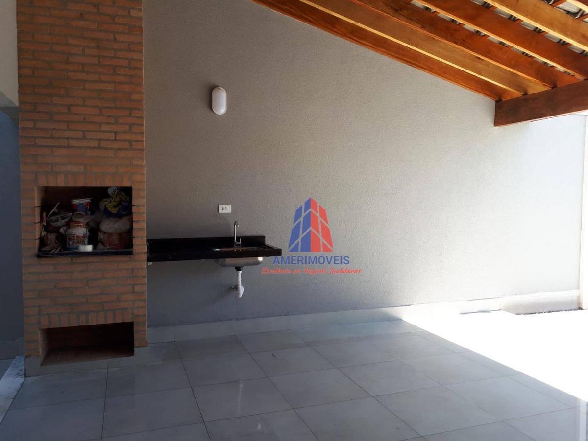 casa com 3 dormitórios à venda, 110 m² por r$ 890.000,00 - jardim cândido bertini - santa bárbara d'oeste/sp - ca1166