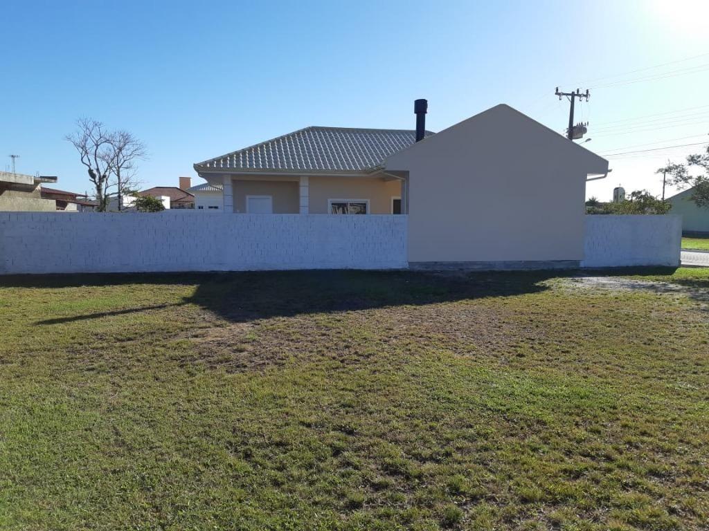 casa com 3 dormitórios à venda, 111 m² por r$ 400.000 - praia de fora - palhoça/sc - ca1946