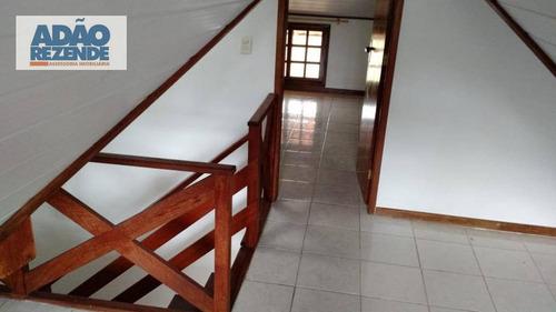 casa com 3 dormitórios à venda, 112 m² por r$ 325.000 - ermitage - teresópolis/rj - ca0998