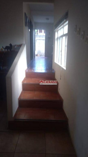 casa com 3 dormitórios à venda, 120 m² por r$ 350.000 - vila monte alegre ii - paulínia/sp - ca1432