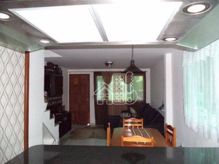 casa com 3 dormitórios à venda, 120 m² por r$ 420.000,00 - itaipu - niterói/rj - ca0406