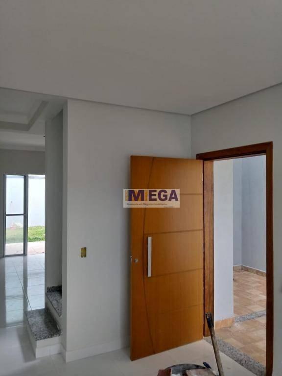 casa com 3 dormitórios à venda, 120 m² por r$ 450.000 - jardim anton von zuben - campinas/sp - ca1609