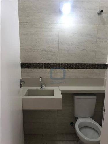 casa com 3 dormitórios à venda, 120 m² por r$ 460.000 - parque jambeiro - campinas/sp - ca0414