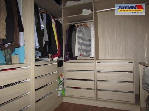 casa com 3 dormitórios à venda, 120 m² por r$ 480.000 - vila são jorge - são vicente/sp - ca0350