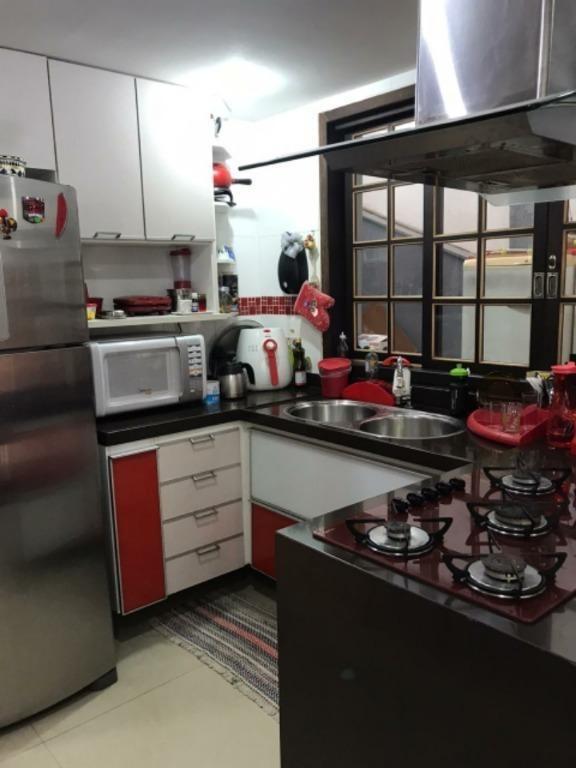 casa com 3 dormitórios à venda, 120 m²- santa rosa - niterói/rj - ca1038