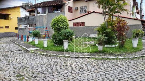 casa com 3 dormitórios à venda, 121 m² por r$ 370.000 - camarão - são gonçalo/rj - ca0407