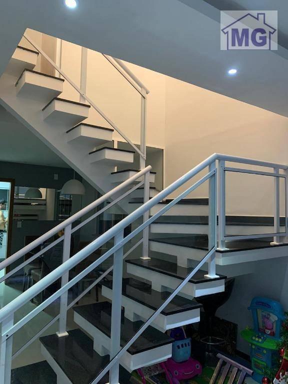 casa com 3 dormitórios à venda, 122 m² por r$ 360.000,00 - vale das palmeiras - macaé/rj - ca0275