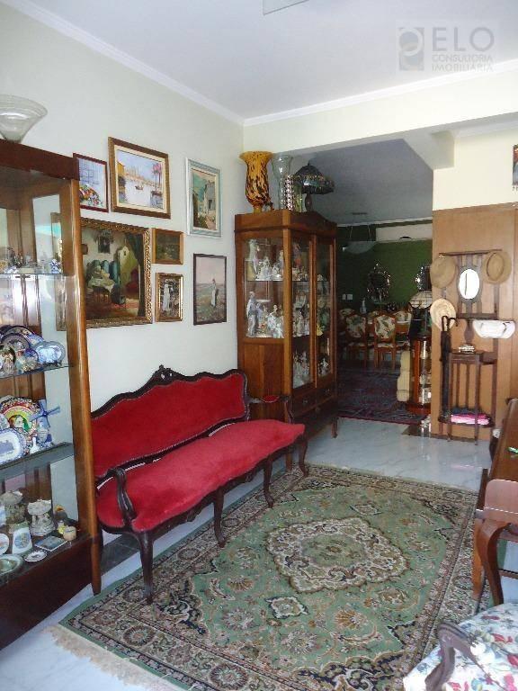 casa com 3 dormitórios à venda, 122 m² por r$ 950.000,00 - boqueirão - santos/sp - ca0198