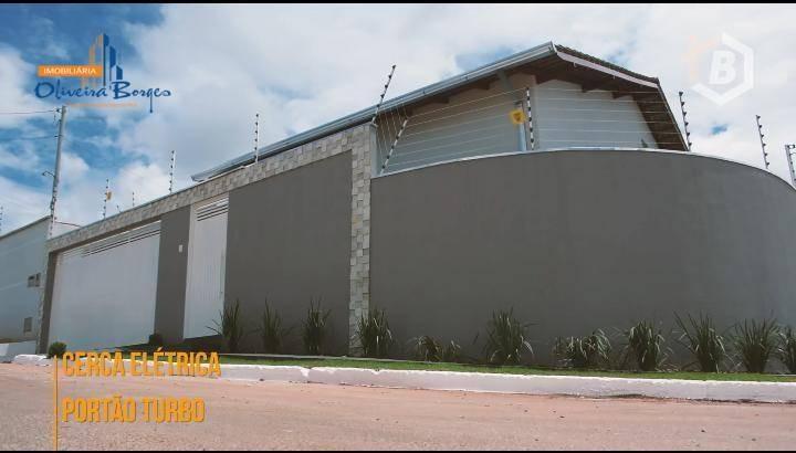casa com 3 dormitórios à venda, 125 m² por r$ 270.000 - residencial flor do cerrado - anápolis/go - ca1320