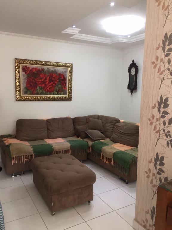 casa com 3 dormitórios à venda, 125 m² por r$ 540.000,00 - vila voturua - são vicente/sp - ca0334